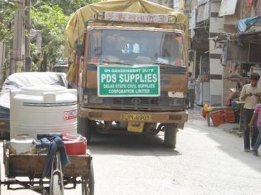 Despite having a food security legislation, spending on food subsidy is low